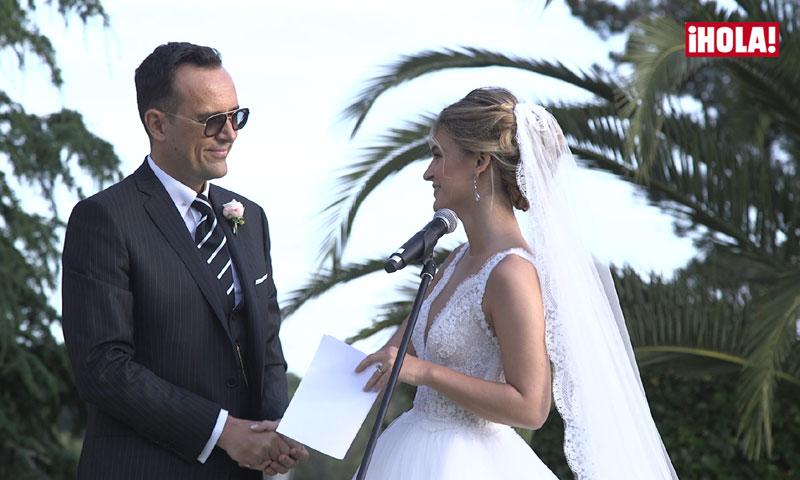 En vídeo: Risto Mejide y Laura Escanes se dicen un 'millón' de veces 'sí, quiero'