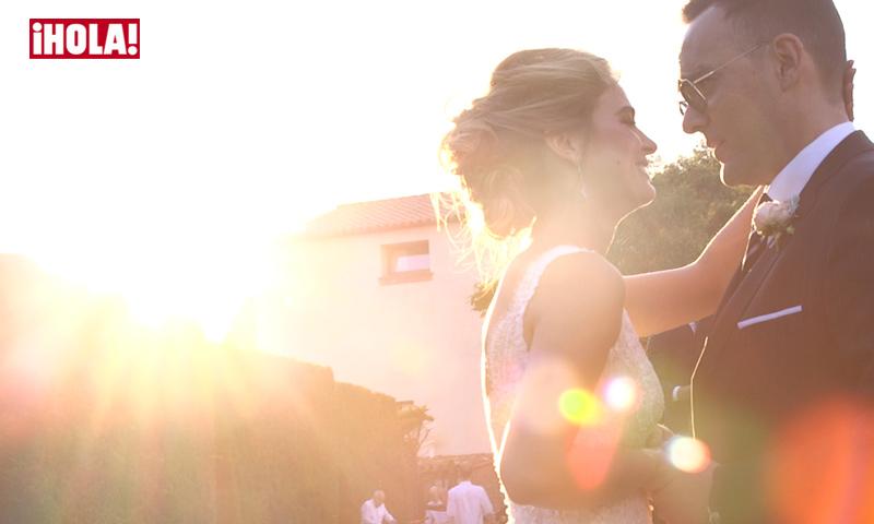 En vídeo: los preparativos y la emocionante ceremonia de Risto Mejide y Laura Escanes