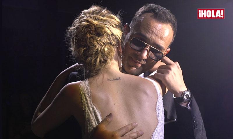 En vídeo: las lágrimas de Risto Mejide en su romántico baile nupcial con Laura Escanes