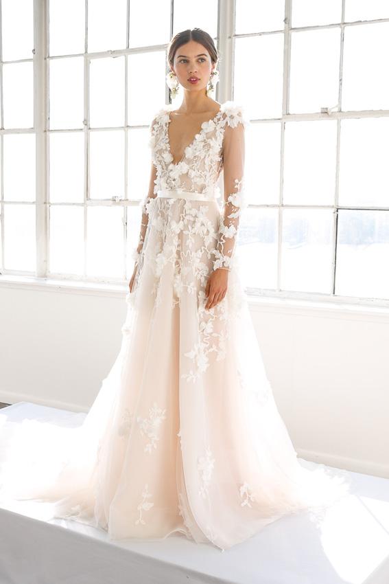 vestidos de novia en color perla – mini vestidos