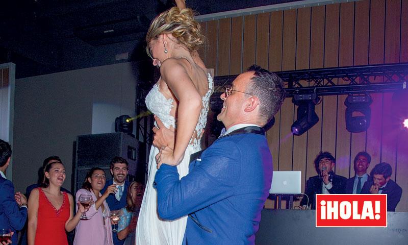 Ni te imaginas cómo bailó Risto Mejide con Laura Escanes tras el 'sí, quiero'