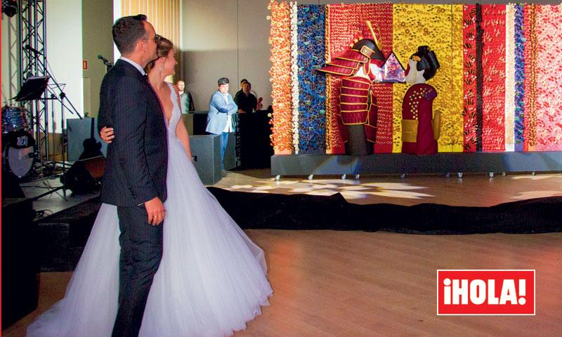 En ¡HOLA!: La sorpresa más dulce de la boda de Risto Mejide y Laura Escanes