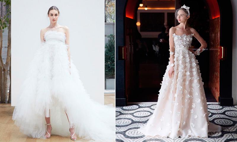 fotogalería: 15 vestidos de ensueño para las novias de 2018 - foto