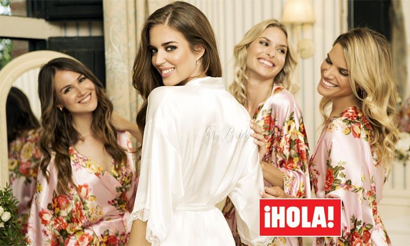La romántica boda de la top model Clara Alonso: la celebración, los vestidos de novia...