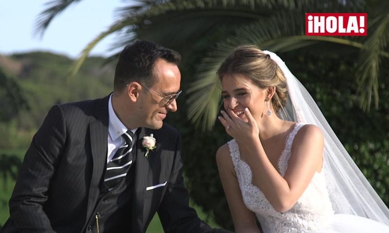 El discurso que hizo llorar a todos... ¡de risa! en la boda de Risto Mejide y Laura Escanes