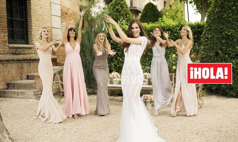 021597f7 En ¡HOLA!, las 5 damas de honor de Clara Alonso: así fueron los ...