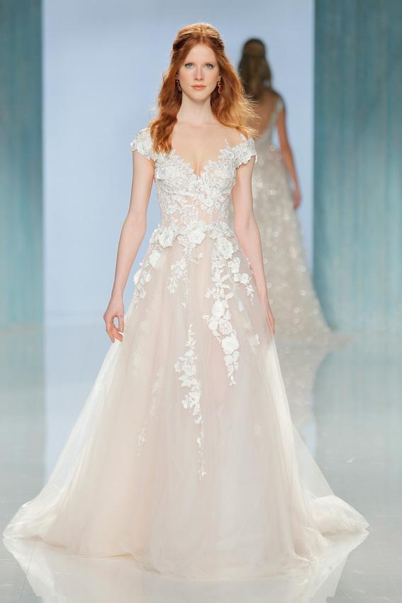 vestidos de novia flores 3d – vestidos de noche
