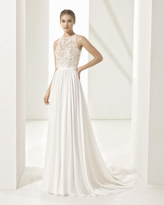 elige genuino busca lo último venta usa online Conoce los vestidos de novia de encaje y pedrería de Rosa ...