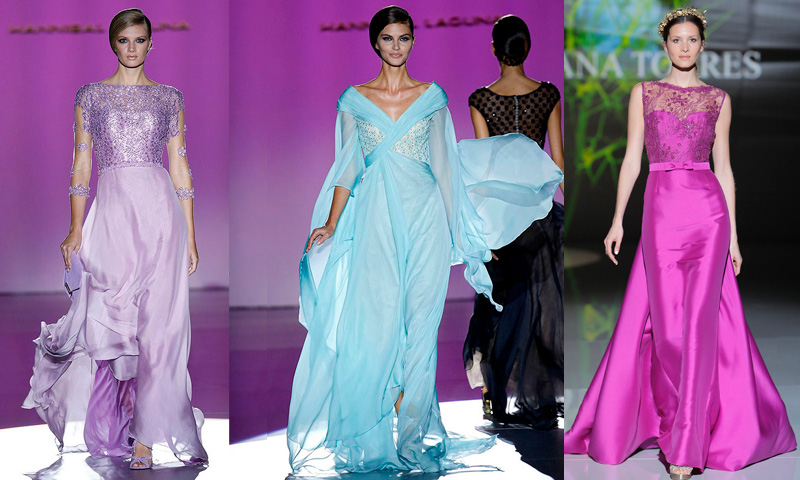 Doce Espectacular Pasarela Vestidos Para De Madrina Foto Una n8Pk0Ow