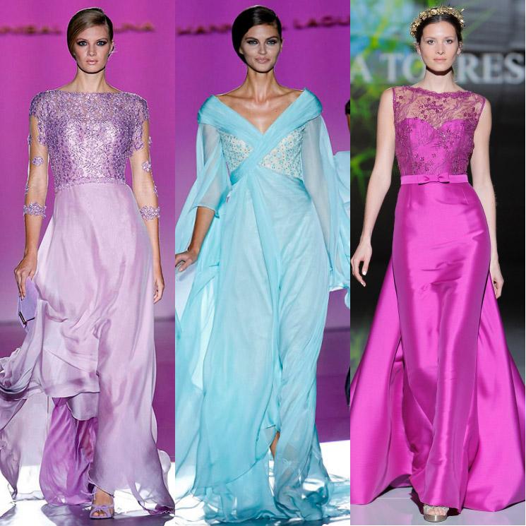 10b7e93f3 Doce vestidos de pasarela para una madrina espectacular - Foto
