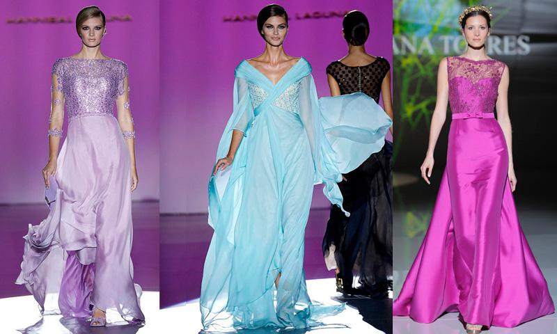 a705875b5 Doce vestidos de pasarela para una madrina espectacular - Foto