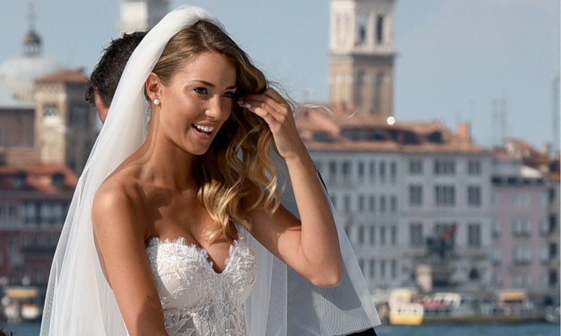El vestido de novia de ensueño de Alice Campello