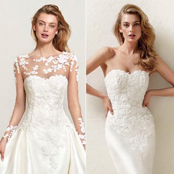 ef7f22744 Vestidos de novia con cola larga desmontable – Vestidos baratos