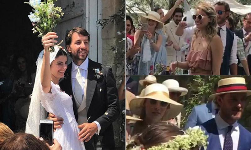 La aristocracia italiana se reúne en la boda de la hija de la diseñadora Luisa Beccaria