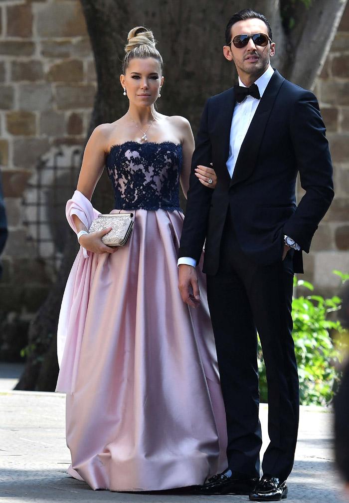 Vestido de novia de swarovski