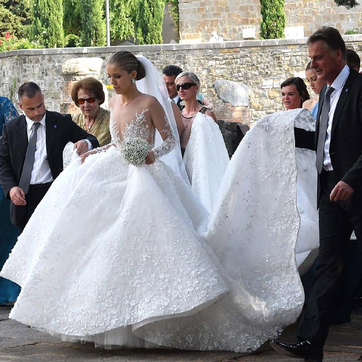 la heredera del imperio swarovski se casa con un impresionante