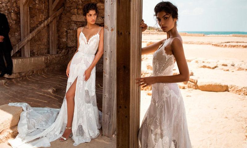 envío gratis Venta caliente genuino moda de lujo Diez vestidos de novia ibicencos para una boda inspiración ...