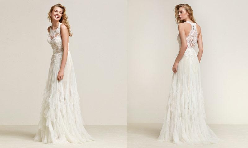 88c1097bf Quince vestidos de novia  boho-chic  que te dejarán sin palabras - Foto