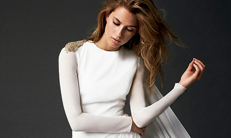 ¿Boda en otoño? Estos 15 vestidos de novia con manga larga son todo lo que necesitas