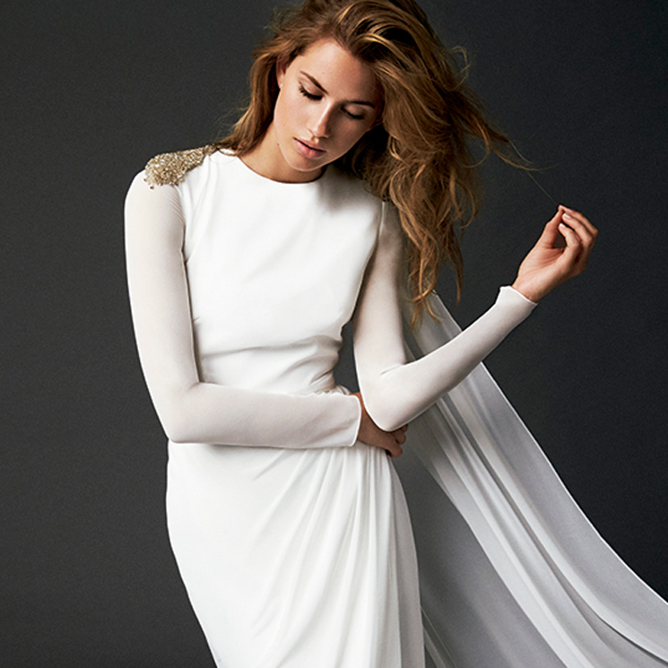boda en otoño? estos 15 vestidos de novia con manga larga son todo