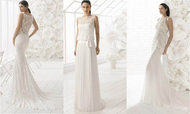La colección 'Soft', los mejores vestidos de novia de Rosa Clará con pedrería bordada