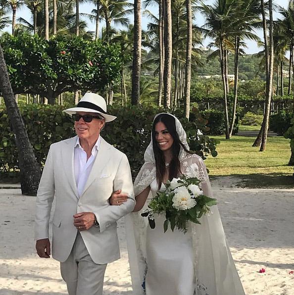 La paradisíaca boda de Ally, la hija de Tommy Hilfiger, en la isla de Mustique