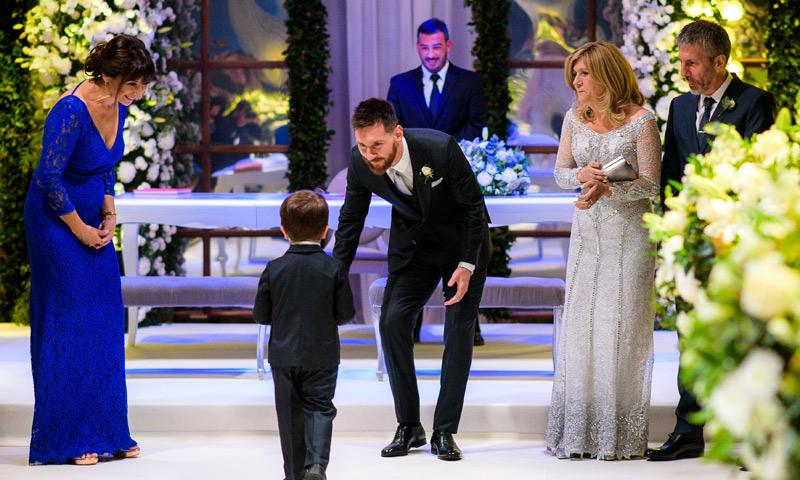 Matrimonio De Messi : El otro gran protagonista de la boda leo messi y