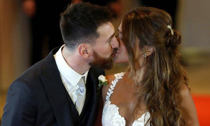 Leo Messi y Antonela Roccuzzo, ¡menudo ritmo! Así fue el baile de los recién casados