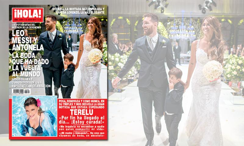 En ¡HOLA!: Leo Messi y Antonela, la boda que ha dado la vuelta al mundo