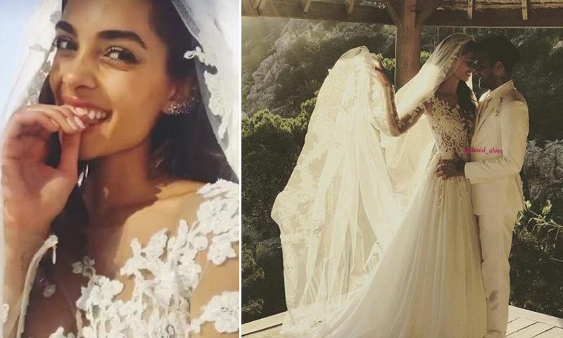 Dani Alves y Joana Sanz se han casado por sorpresa