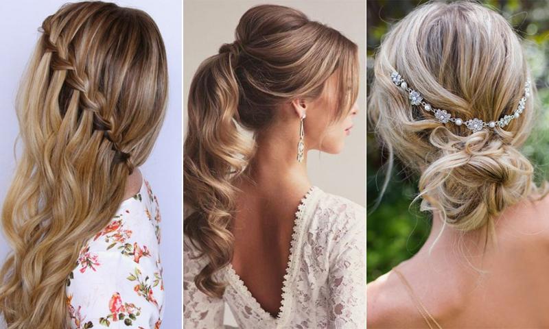 10 Bonitos Peinados Para Invitadas Inspirados En Pinterest Foto