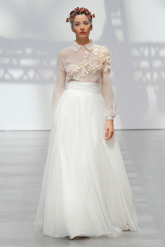 Vestidos de novia para mediodia