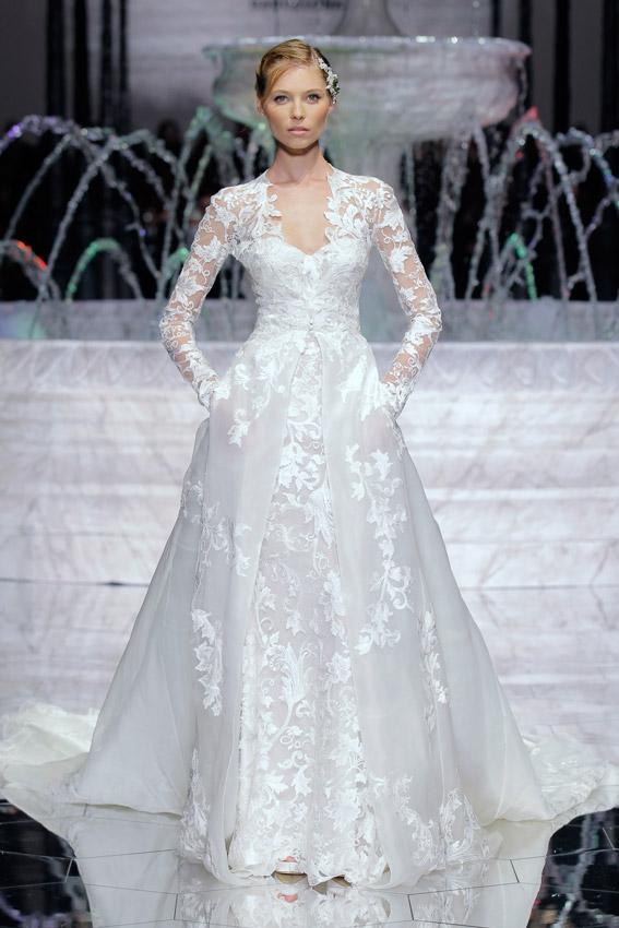 Vestidos de novia no tan escotados