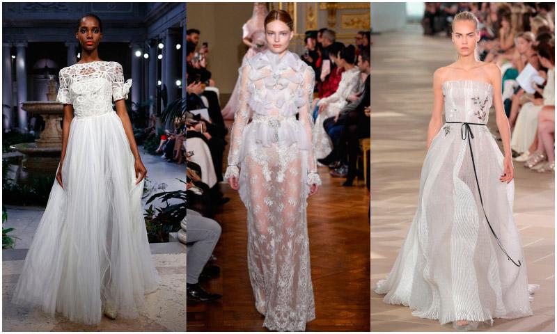 Fotogalería: Diez vestidos 'prêt-à-porter' que podrían inspirar tu próximo 'bridal look'