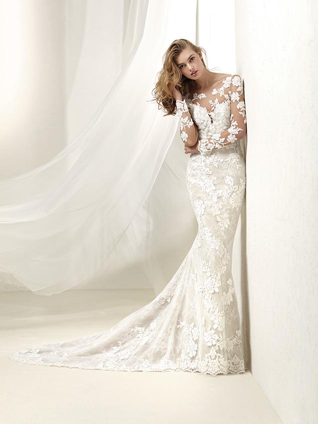 Vestido novia pronovias princesa