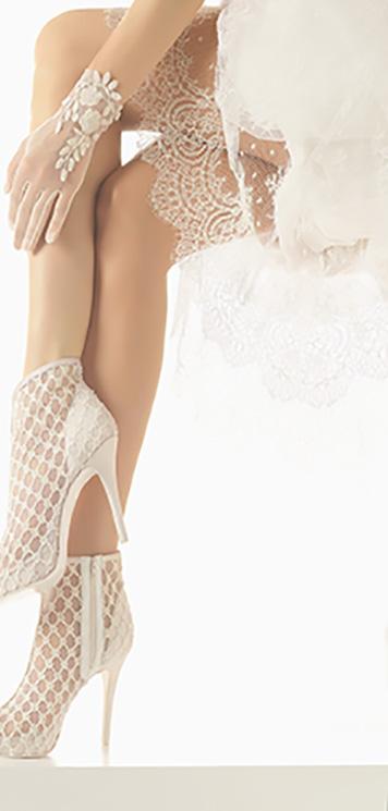 Elegancia, estilo y feminidad: los 8 deslumbrantes zapatos para novias de Rosa Clará