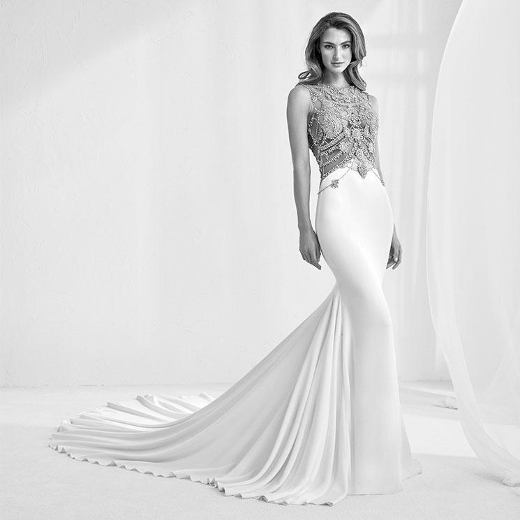 pronovias vuelve a conquistar el sector nupcial con sus vestidos