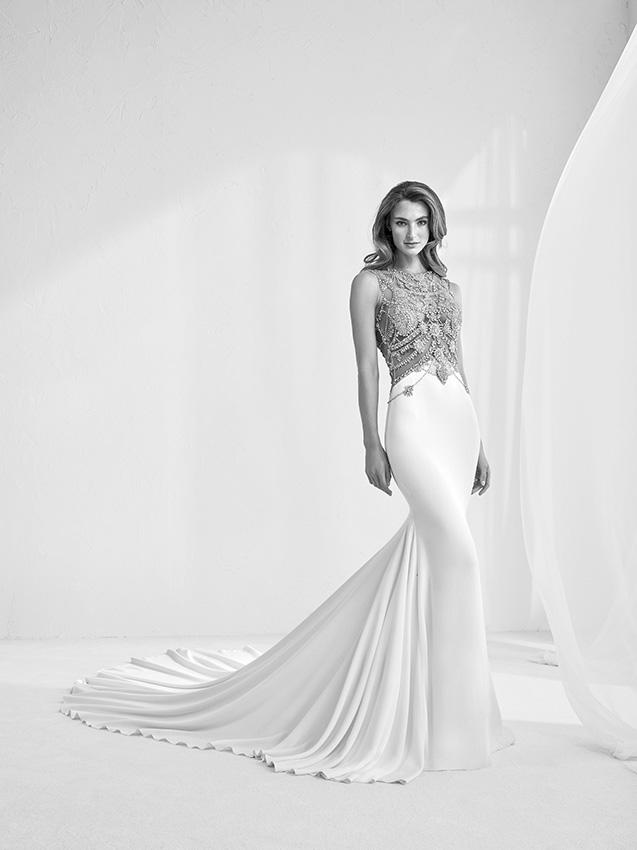 Vestidos de novia y precios pronovias