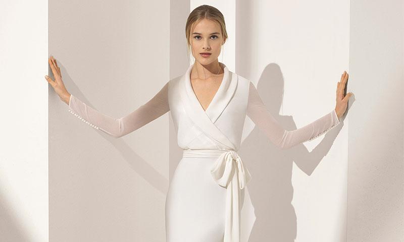 Vestidos con efecto 'segunda piel', lo último de Rosa Clará para 2018