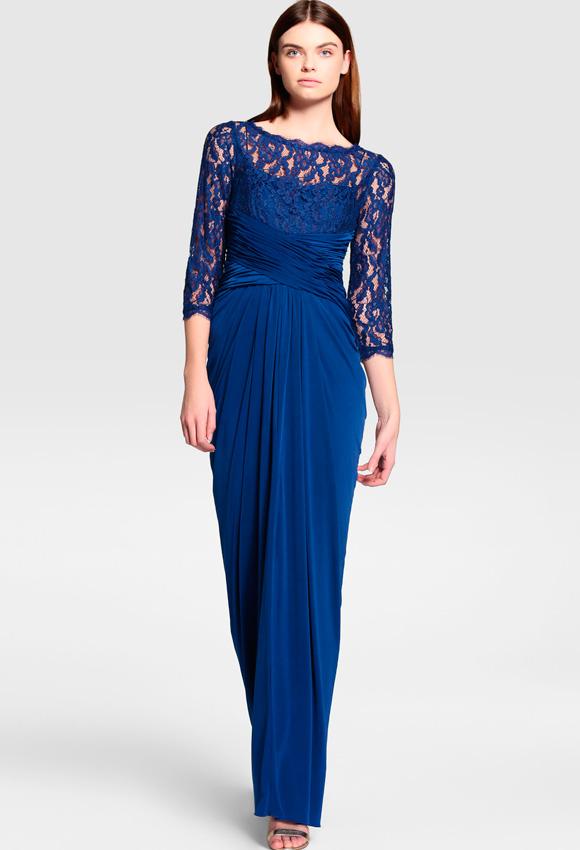 Bolero para vestido azul electrico