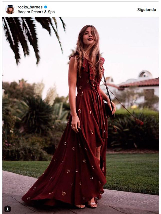 Paginas de vestidos de fiesta instagram
