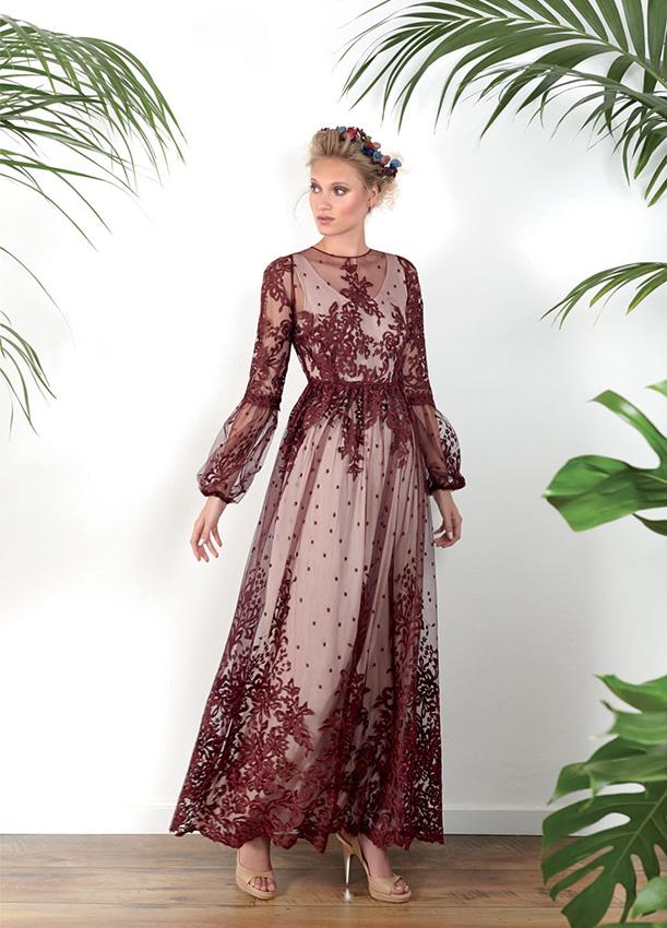 Vestidos para boda agosto 2019