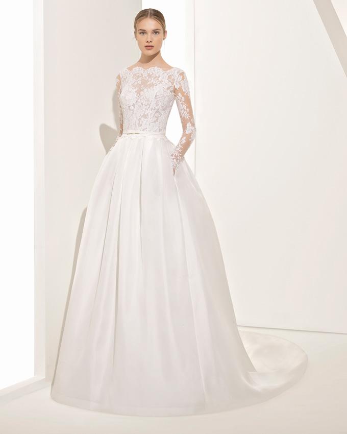 Rosa Clará vestidos de novia con bolsillos