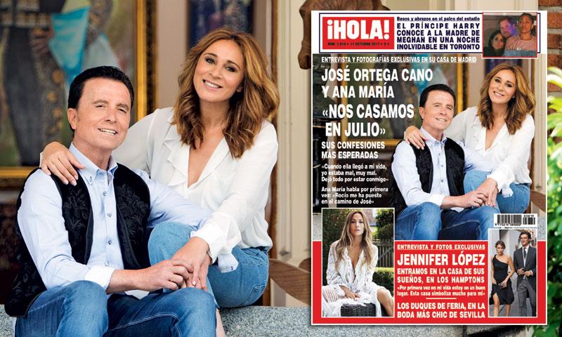 d18acbe5fc Exclusiva en ¡HOLA!  José Ortega Cano y Ana María   Nos casamos en ...