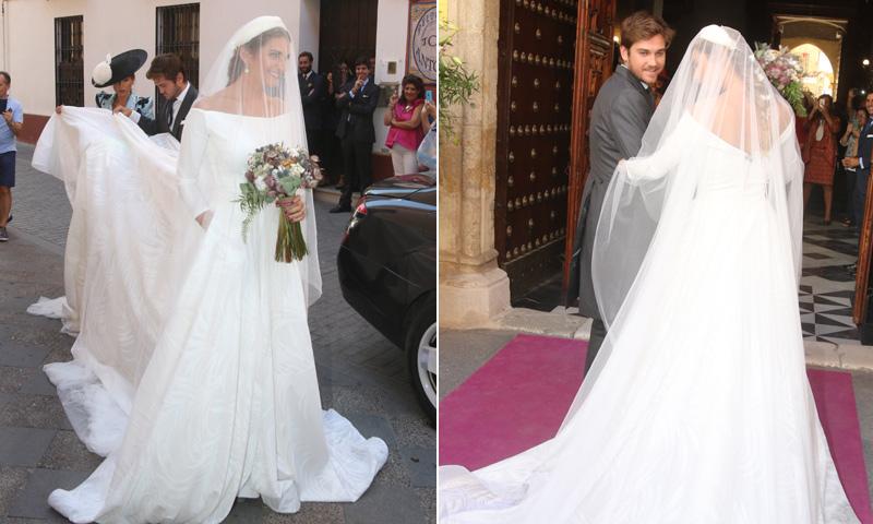 Algo prestado, algo azul... Sibi Montes, una novia romántica y tradicional