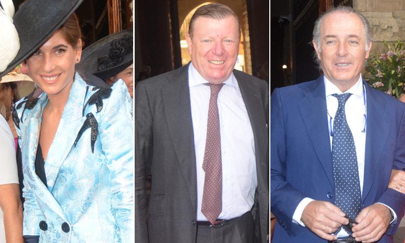 Lourdes y Francisco Rivera, testigos de excepción en la boda de Sibi Montes y Álvaro Sanchís