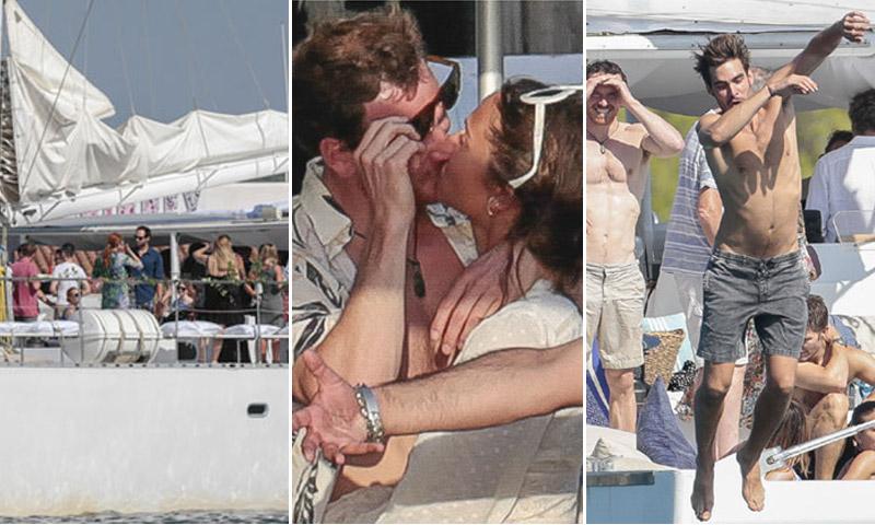 EXCLUSIVA: Todas las fotografías de la fiesta preboda de Michael Fassbender y Alicia Vikander