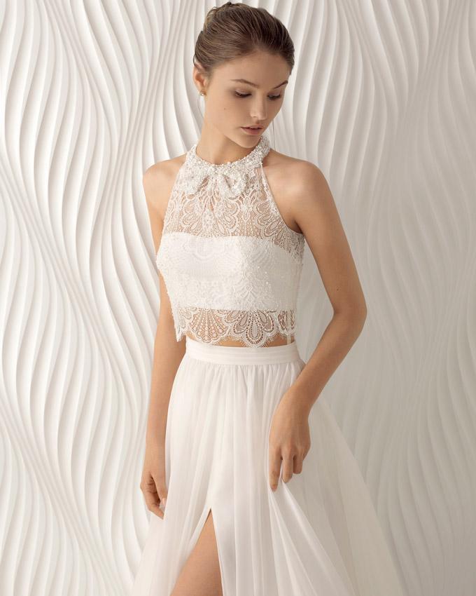 Rosa Clará: 9 Vestidos de novia intrépidos (y \'sexys\') que ...