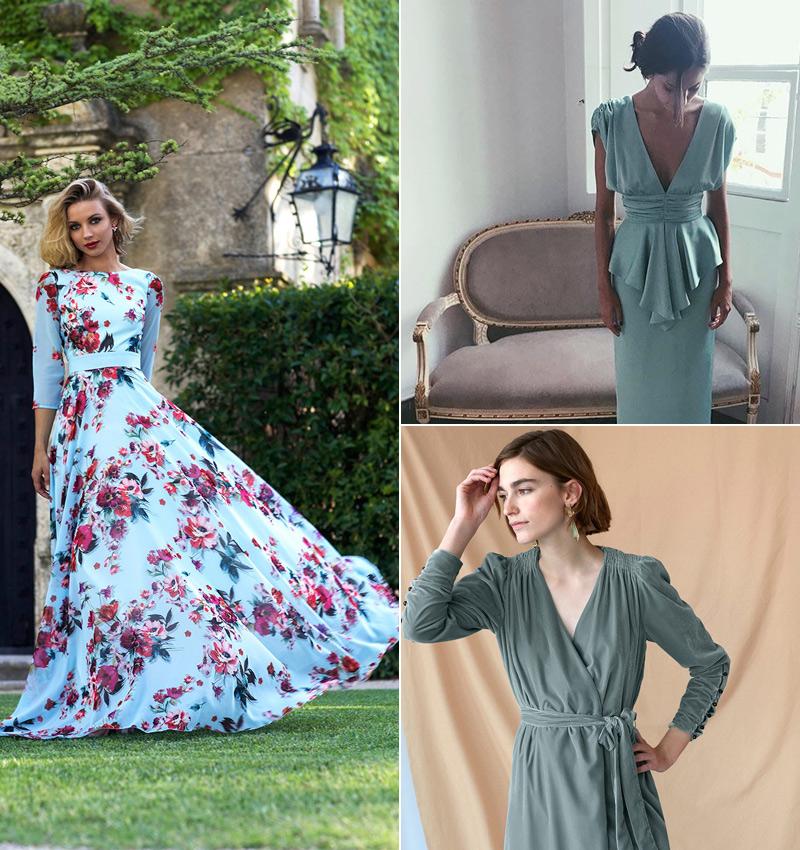 Vestidos cortos para boda de dia en otono