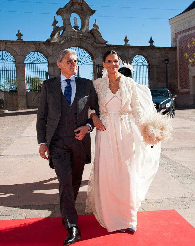 la boda de la diseñadora de vestidos de novia inés martín alcalde y
